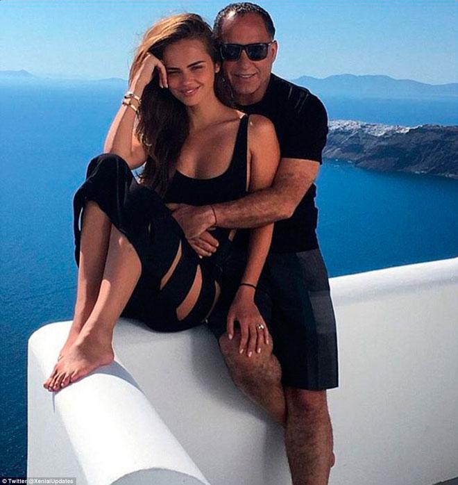 Ксения Дели с мужем