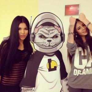 Света Билялова и Диана Мелисон