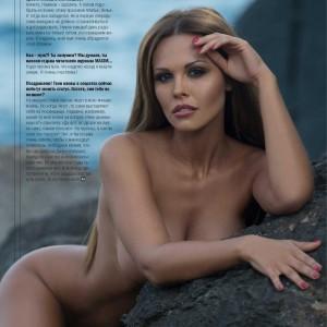 Мария Горбань в журнале Maxim