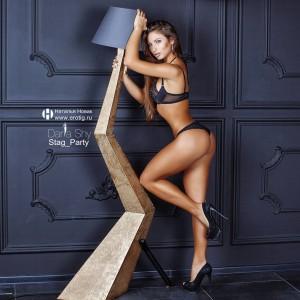 Дарья Шай для конкурса Maxim