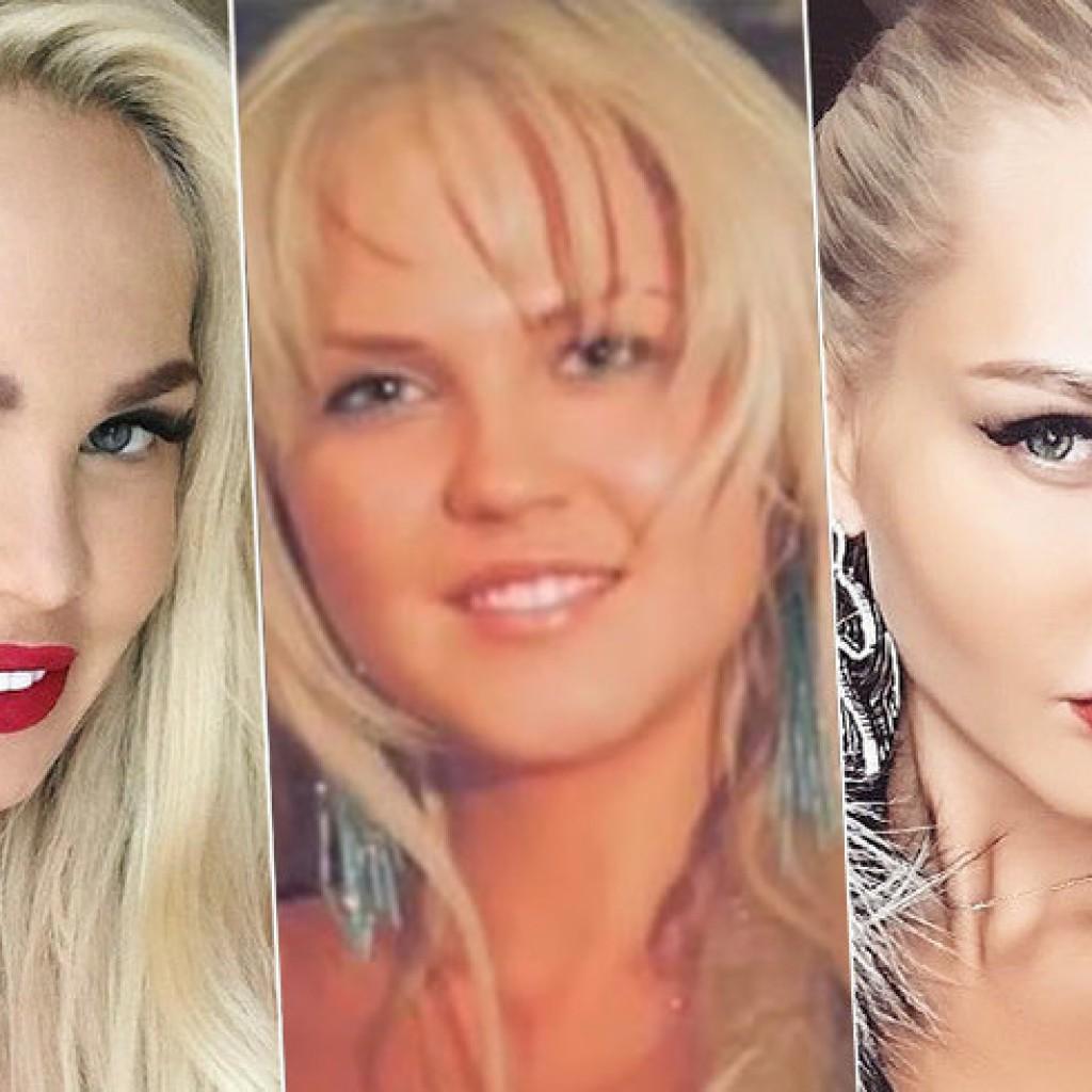 Мария Погребняк до и после ринопластики (пластики носа)